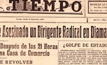 Cuando en Entre Ríos festejaron un golpe de Estado