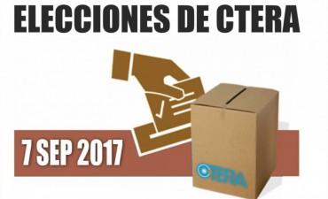 Más de 30 mil docentes entrerrianos están habilitados para votar en las elecciones de Ctera