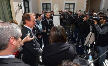 """""""Los cambios en la Coparticipación los establece el Congreso y vamos a hacer valer nuestros derechos"""""""