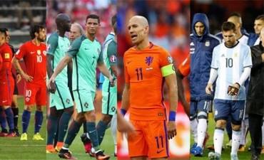 Eliminatorias: Qué potencias están en riesgo de quedar fuera del Mundial