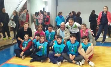 Los federalenses en las finales provinciales de los Juegos Evita
