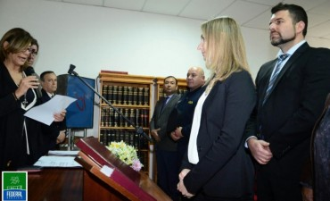 La Dra Maria Soledad Villalonga asumió como Jueza de Familia de Federal