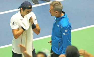 Argentina arrancó la serie de Copa Davis con el pie izquierdo