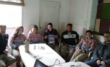 Proyecto integral de trabajo entre alumnos de la Agrotecnica , Pro-Huerta y Municipio
