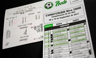 Acertó los resultados del Prode y ganó casi 5 millones de pesos