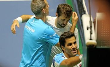 Copa Davis: Argentina perdió el dobles y quedó al borde del descenso