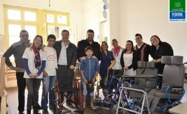 Visita del Diputado Gustavo Zavallo a Federal