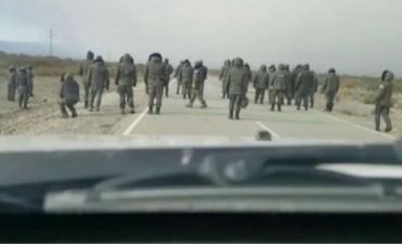 Audio entre gendarmes dice que tenían a Maldonado en una camioneta
