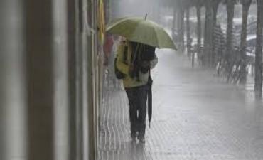 Lluvias hasta el domingo: Detallan cuántos milímetros caerían en Entre Ríos