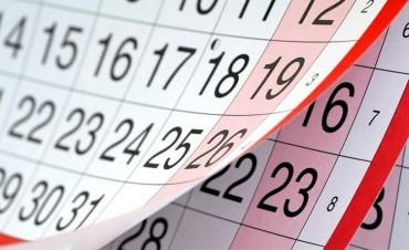 Cómo podría quedar el calendario de feriados en 2018