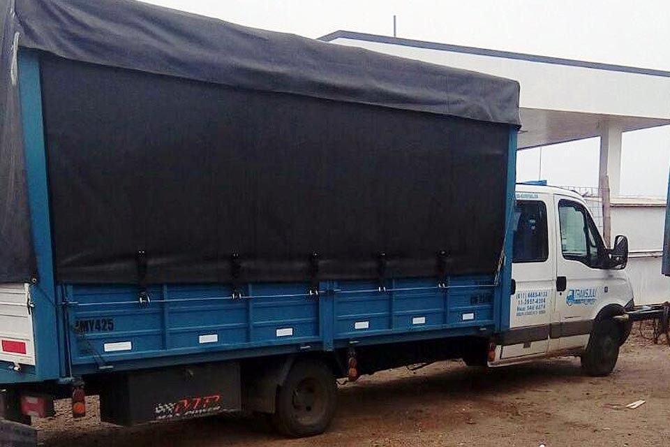 Posible desvío de camiones de Desarrollo Social de la Nación en Entre Ríos