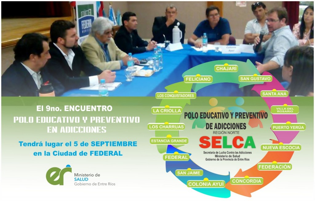 9° ENCUENTRO DEL POLO PREVENTIVO EDUCATIVO DE ADICCIONES EN FEDERAL