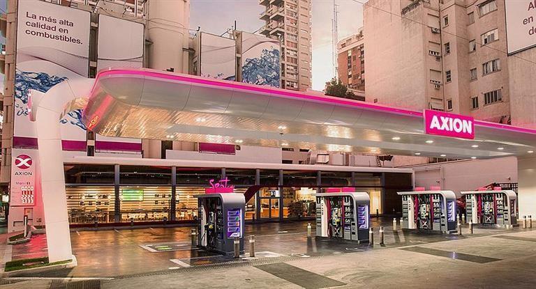 Axion ya aumentó hasta 8,9% los combustibles en sus estaciones