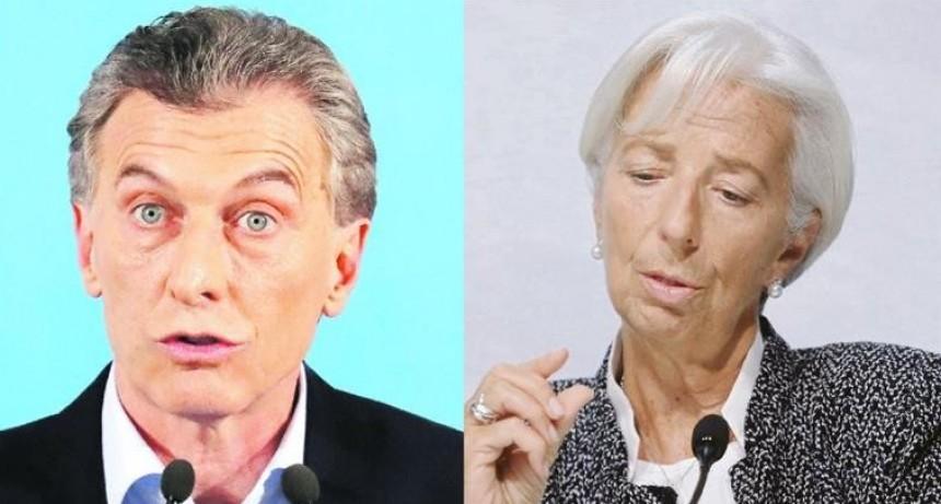 Presentan ajuste de $500.000 M ante un inflexible y enojado FMI