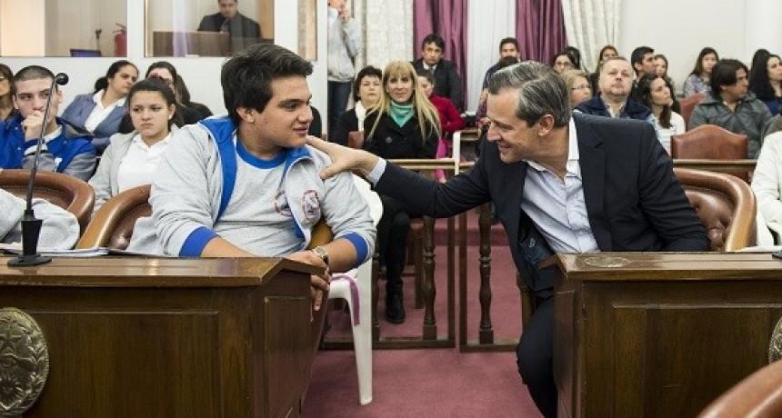 Los jóvenes toman protagonismo en el Senado provincial. El 22 de octubre en Federal