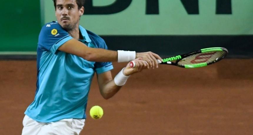 Copa Davis: Guido Pella tuvo que luchar, pero al final festejó y Argentina está 2-0