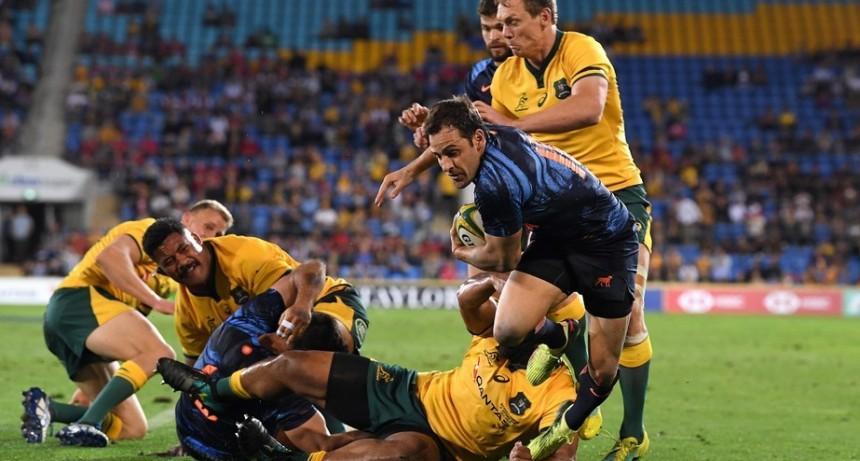 Histórica victoria de Los Pumas ante Australia en Gold Coast