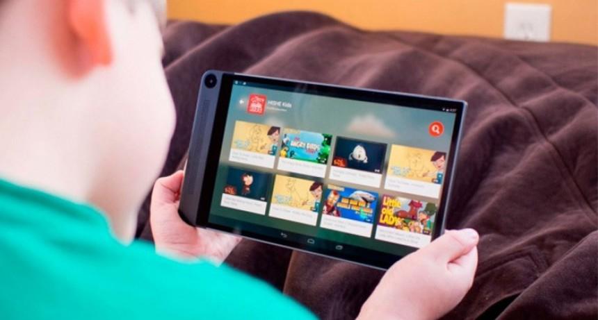 ¿Cuánto tiempo deben pasar los niños en internet?