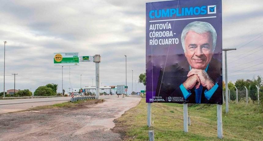 La autovía emblema de la gestión de De la Sota fue el escenario de su muerte