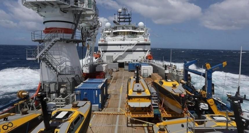 5 pesqueros y 74 piedras: la búsqueda del ARA San Juan ya superó los 100 contactos y casi todos fueron descartados