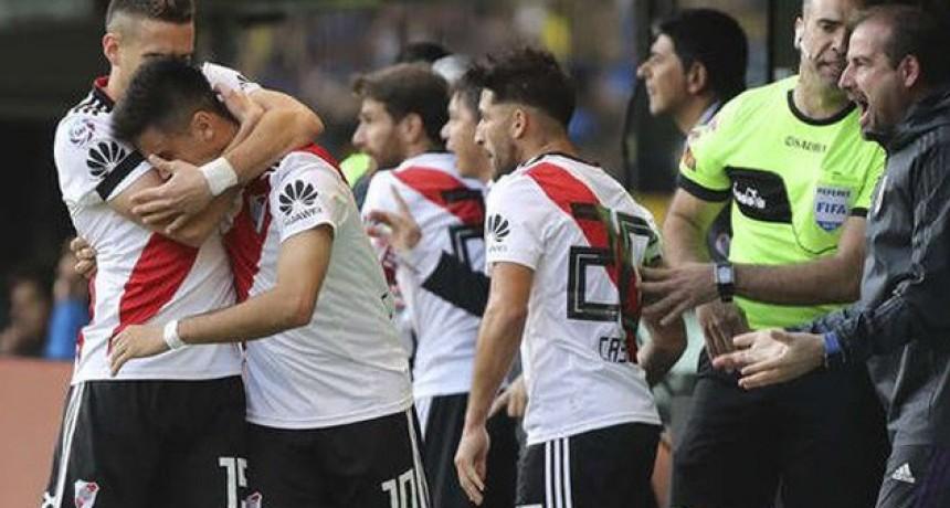 River venció Boca en La Bombonera y logró su segundo triunfo en el campeonato