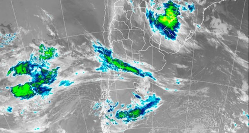 Rige alerta por tormentas para una zona de Entre Ríos y otras provincias