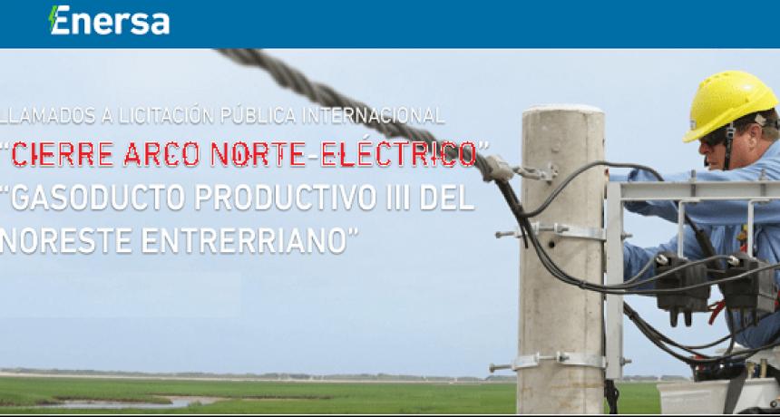 Licitan obras de gas natural, energía y fibra óptica para el norte entrerriano. Que incluye Federal