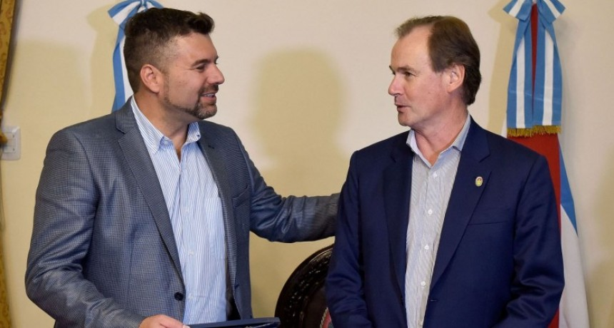 Intendentes destacaron los beneficios que traerá la obra del cierre energético para el norte entrerriano