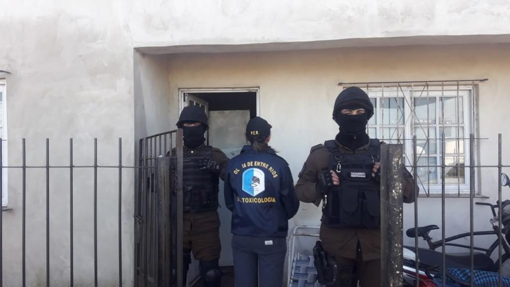 Operativo desarrollado en San Salvador contó con presencia de personal de Federal