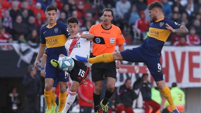 River y Boca no pasaron del cero e igualaron en un discreto partido en el Monumental