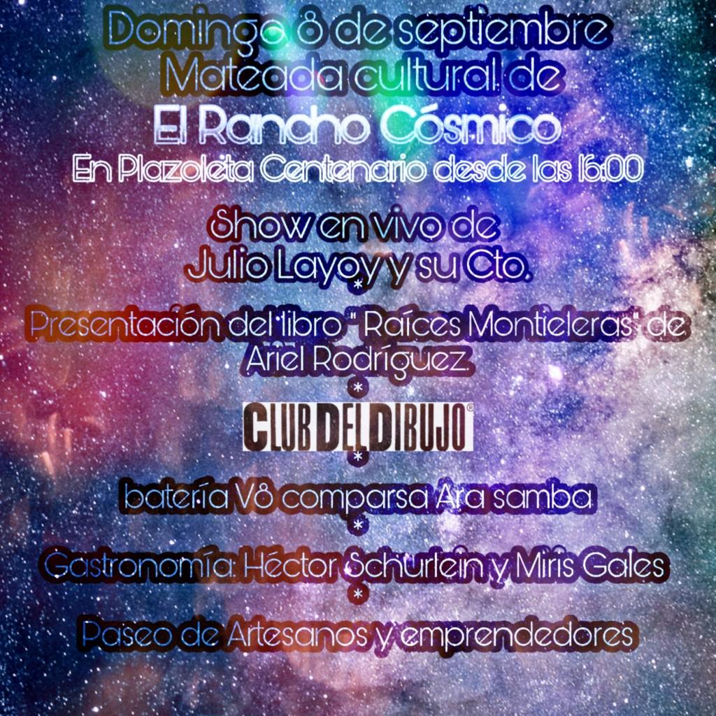 Mateada cultural del Rancho Cósmico
