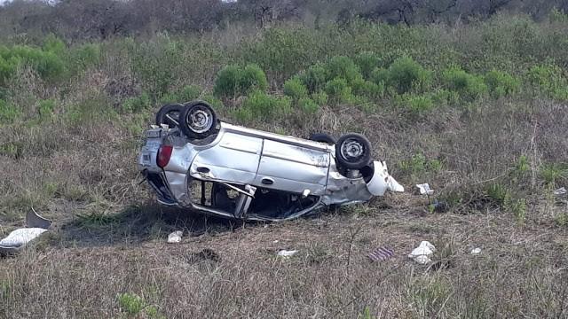 Accidente de transito en Ruta Provincial N 6