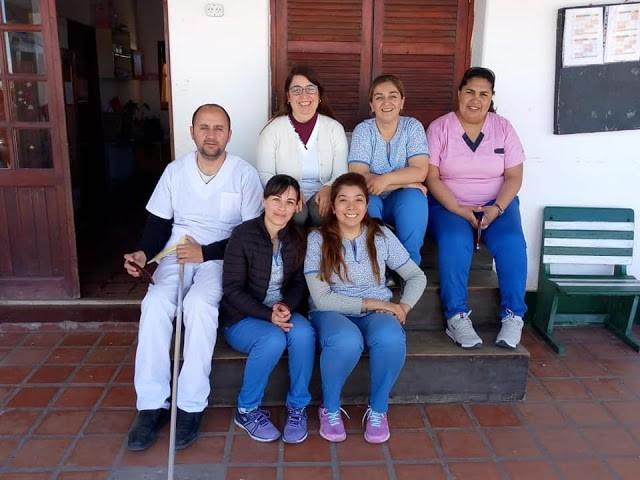 Realizaron abordaje sanitario en la Escuela N 8