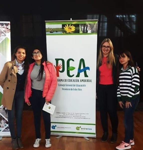 S. de Luna: Alumnos premiados en las Olimpíadas Provinciales de Ambiente
