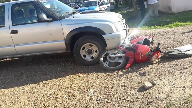 Accidente de transito en calles Fransisco Ramirez y Anderson
