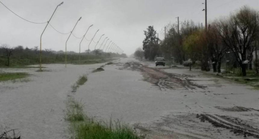 La provincia atiende la situación de las zonas más afectadas por el temporal