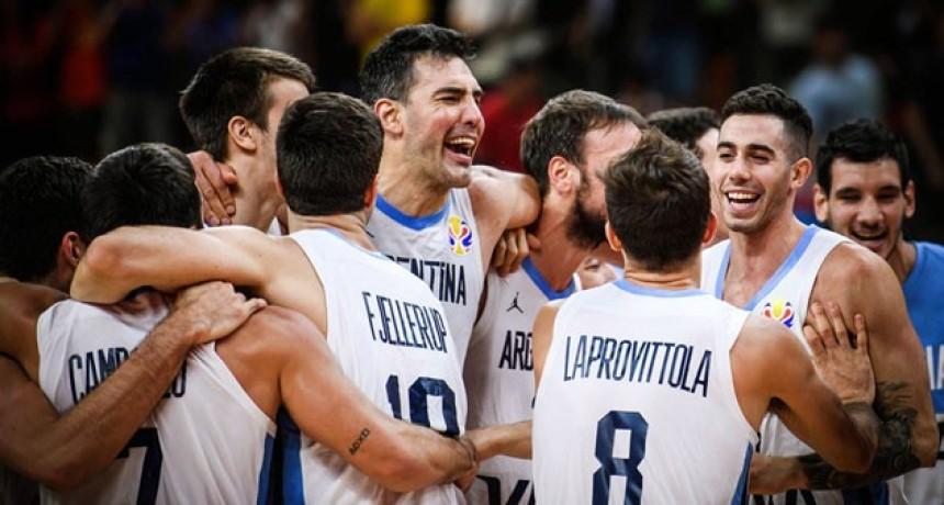 Argentina y otro batacazo histórico: Eliminó a Serbia y está entre los cuatro mejores del Mundial de Básquet