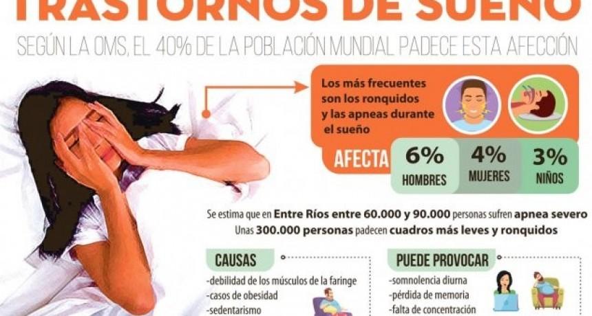 Apnea: una pesadilla que suele afectar a unas 90.000 personas en Entre Ríos