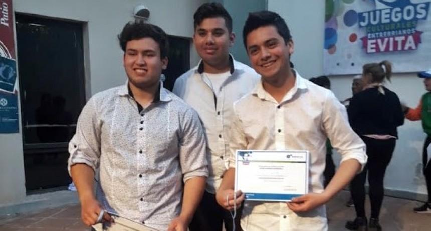 Jóvenes federalenses clasificaron para la instancia final de los Juegos Culturales Evita