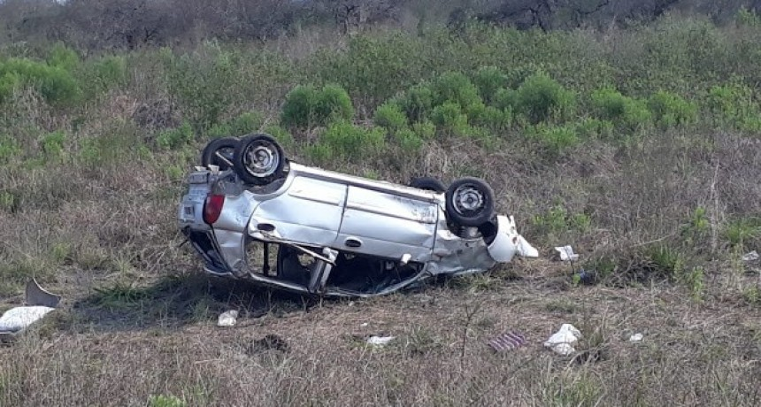 Accidente de transito en Ruta Provincial N 6