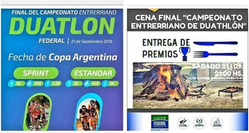 Final Campeonato Entrerriano y de la Copa Argentina