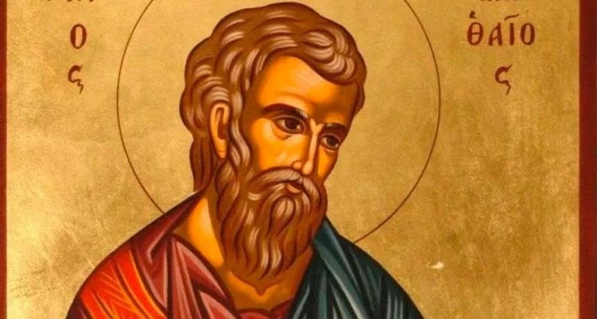 Hoy es el día del evangelista San Mateo, primero en redactar la vida de Cristo