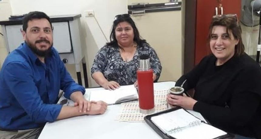 Reunión de trabajo por los Centros Laborales y Profesionales