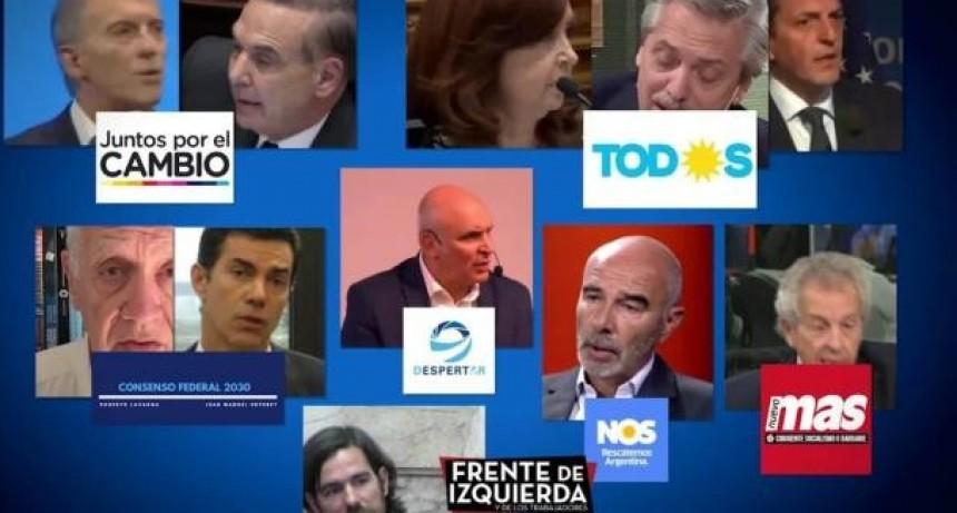 Debate presidencial: Sortearon el orden de los candidatos y los temas a tratar