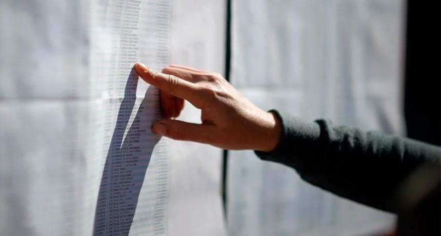 Está disponible el Padrón definitivo para las elecciones: Consulte dónde vota