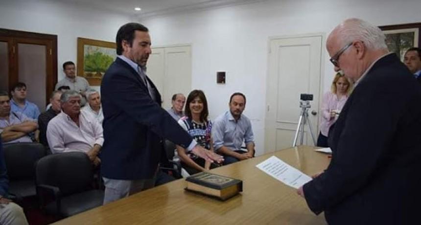 Federalense juro como funcionario de la Municipalidad de Goya