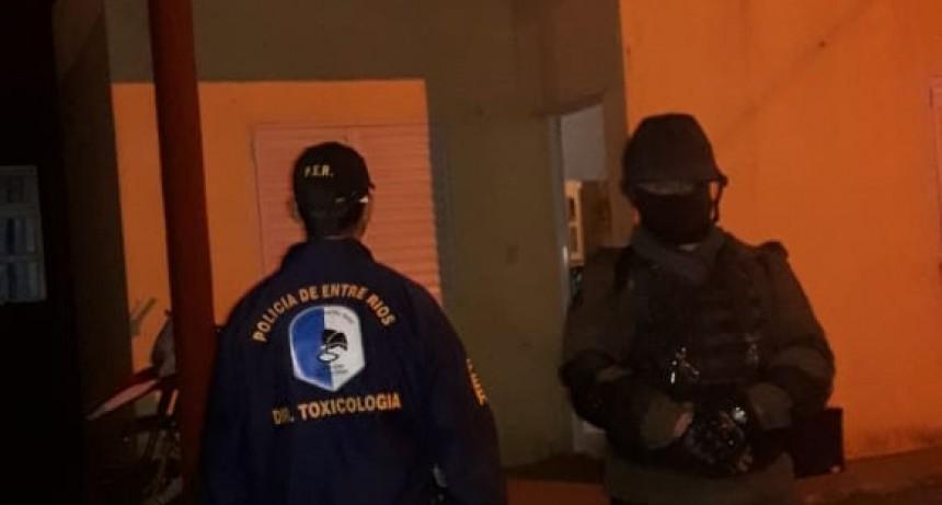 Personal de la División Toxicologia de Federal participo de operativo conjunto en Feliciano