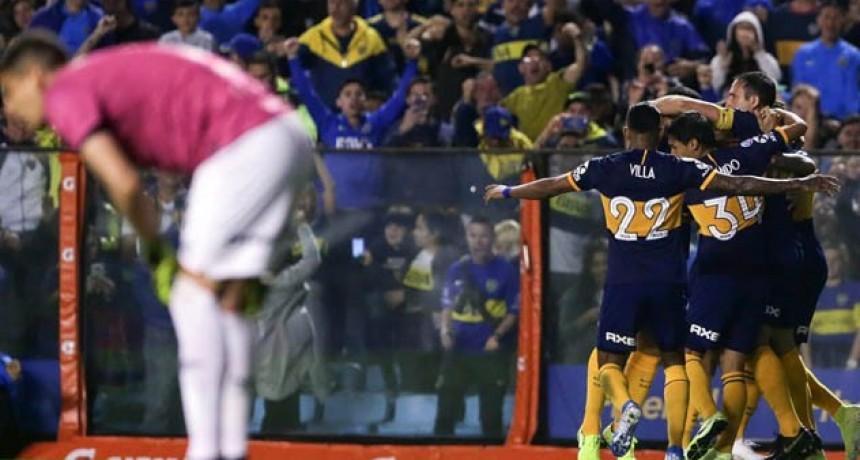 Boca y Newell´s empataron 1 a 1 en La Bombonera