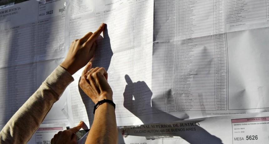 La concurrencia a las urnas, un enigma después del resultado de las PASO