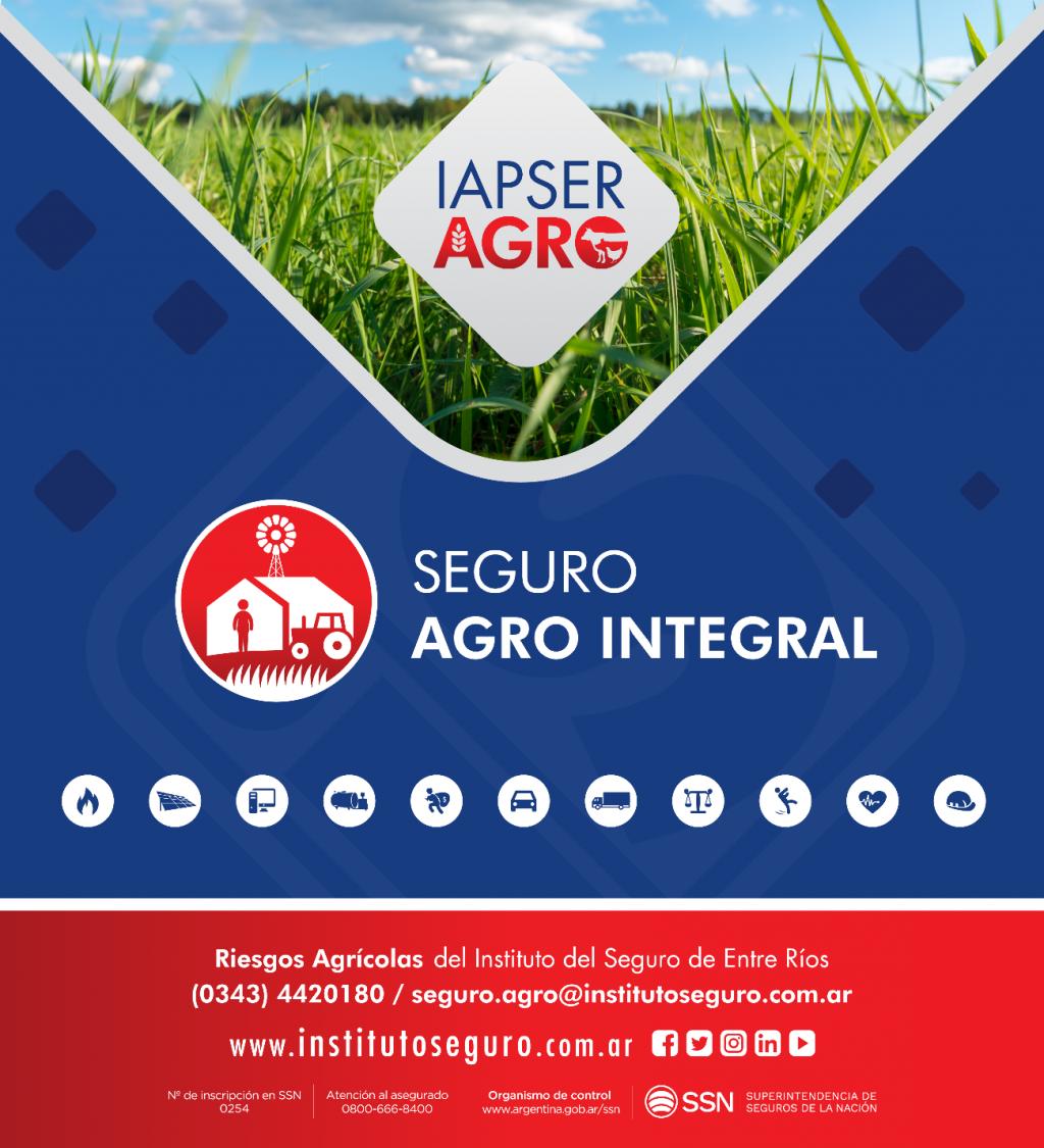 El IAPSER lanza un nuevo seguro agropecuario integral